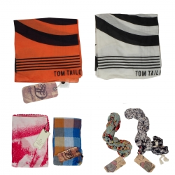 TOM TAILOR SCARVES MIX